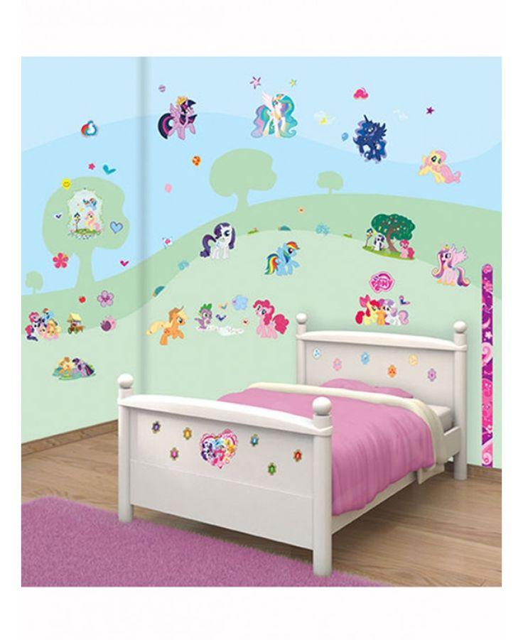 Walltastic My Little Pony Room Decor Wall Sticker Kit