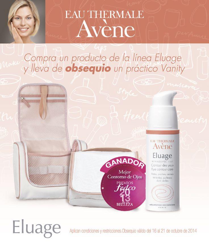 ¡Encuentra el cuidado especial para la piel en los productos Eau Thermale Avene y llévate un práctico vanity! http://bit.ly/EauThermaleAvene