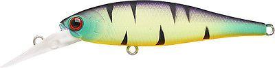Lucky Craft Pointer 65DD Mat Tiger Bass Bait Walleye Pike Zander Bream
