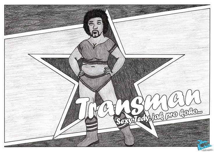 Třicátá pátá část. Transman. Sexy. Tedy, jak pro koho...  Johny Bouchačka má i oficiální stránky: http://bouchacka.weebly.com/