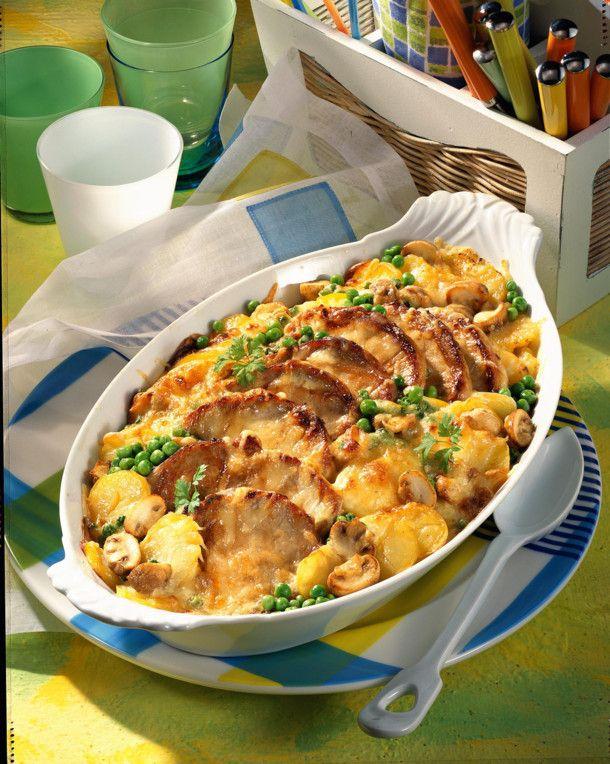 Unser beliebtes Rezept für Kartoffel-Kotelett-Auflauf und mehr als 55.000 weitere kostenlose Rezepte auf LECKER.de.