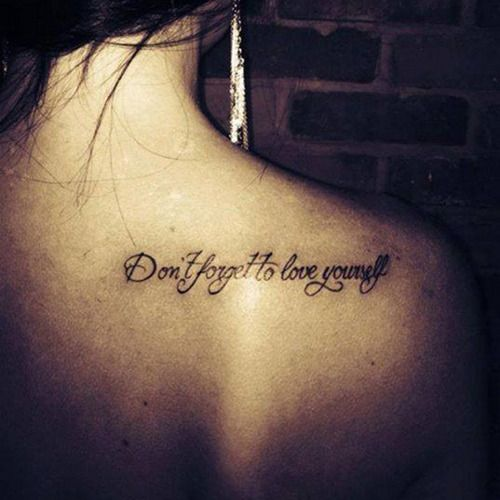 38 Best Quotes Tattoos Images On Pinterest