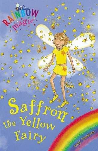 saffron the yellow fairy rainbow fairies 3 by daisy meadows it 39 s sunny the yellow fairy in. Black Bedroom Furniture Sets. Home Design Ideas