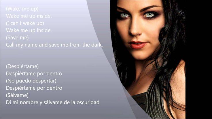 Evanescence - Bring Me To Life - Letra (Ingles - Español)