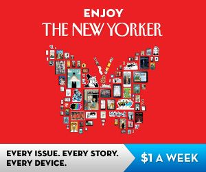 The New Yorker Magazine, the perfect christmas gift.