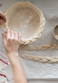 Comment tresser une pâte à tarte