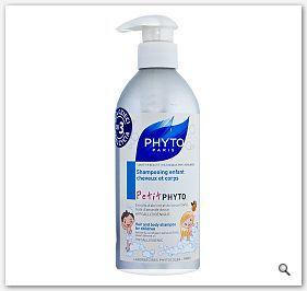 PHYTO petitphyto Szampon dla dzieci od 3 rż - szampon nawilżający do włosów i ciała 400ml