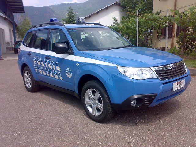 SUBARU FORESTER Polizia-Italian Police by blugrigio, via Flickr