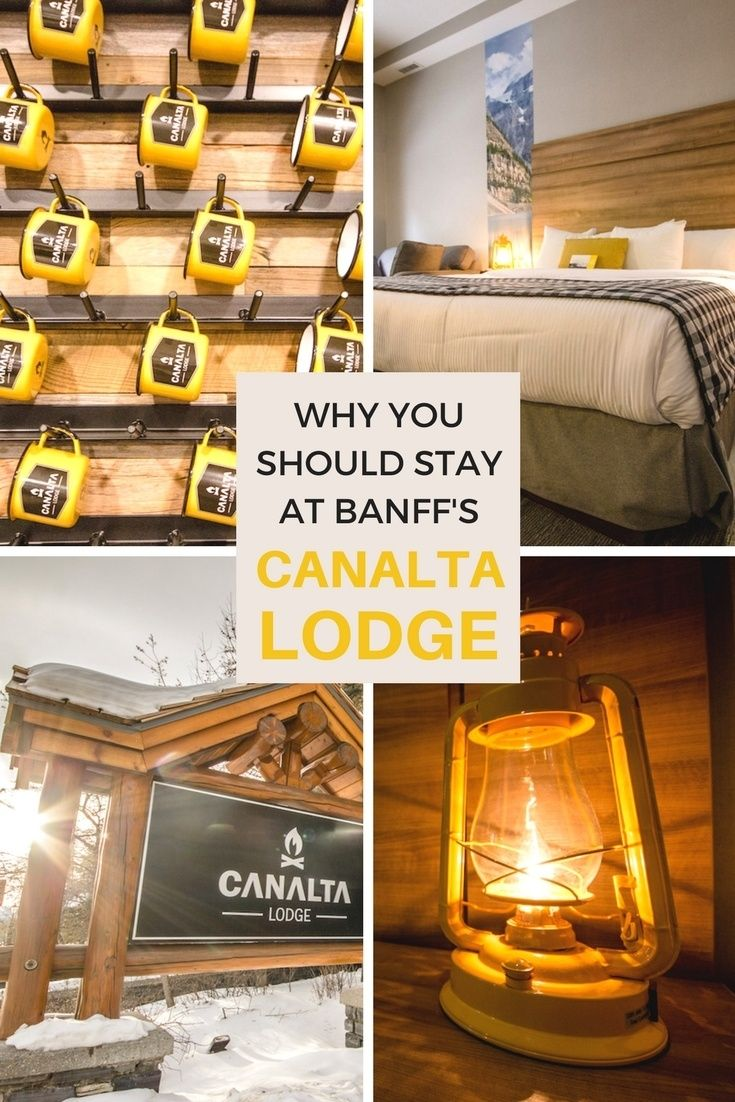 The Canalta Lodge has an enviable location right on Banff Avenue, and is considered one of the best accommodations in #Banff with inclusions like breakfast, heated underground parking, Wi-Fi, ski storage and a full gym.   #Canada | #Travel | #Hotel | #Alberta