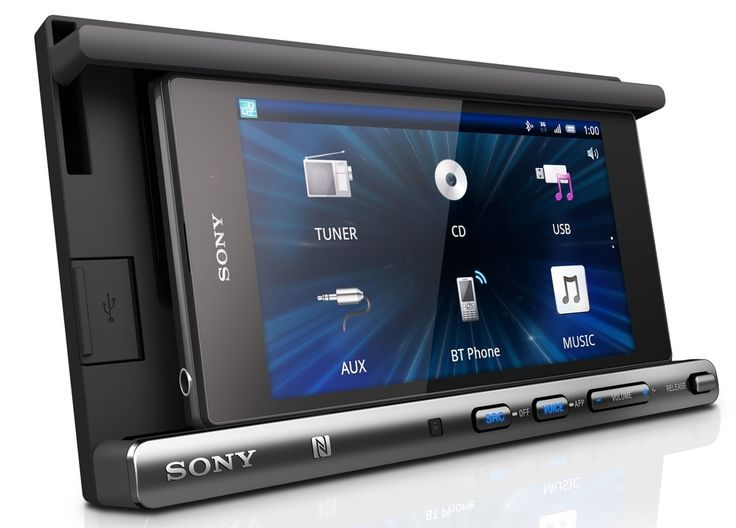 Sony's XSP-N1BT turns your smartphone into an in-car entertainment system