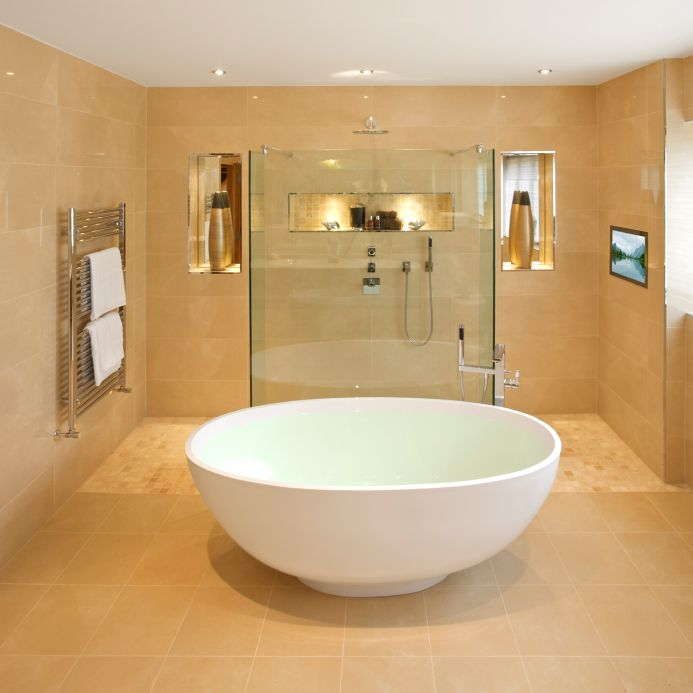 Wet Rooms Are Part Of The Trend Towards More Open Spaces