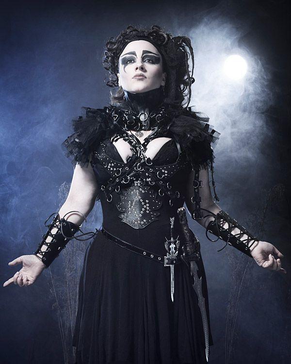 Gothic Fashion Photography | Gothic fashion for alternative model. Birmingham studio photography