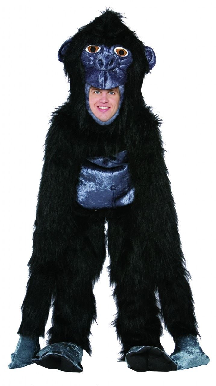 #Halloween Extra guide GORILLA MONKEY king kong funny mens halloween costume for  Halloween Gifts Idea Online Shopping .  At #Halloween time, everybody wants an exciting and distinctive costume. Nobody wants to experience a boring or dull costume. So many people are sick and tired of wizards, spirits, and Scream killer...