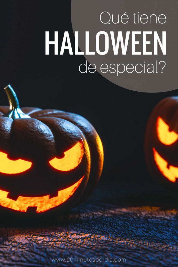 Por qué celebramos Halloween? Qué tiene de especial?