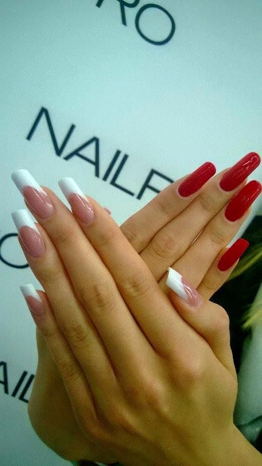 Mistrzostwa Europy Nail Pro w Wilnie - III Miejsce Acrylic French, Indigo Educator Joanna Bandurska - Follow us on Pinterest. Find more inspiration at www.indigo-nails.com #nailart #nails #omg #polish #indigo