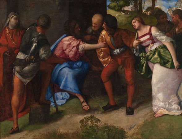 SBMA: exhibitions > current > Botticelli, Titian & Beyond