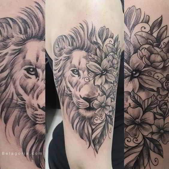 75 Tatuajes De Leones Para Mujer 2018 Brillantes Now That I M 18
