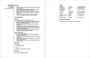 Sample Resume for an Entry-Level Nursing Assistant