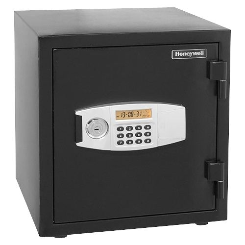 Honeywell - 1.24 Cu. Ft. Fire- and Water-Resistant Safe with digital lock