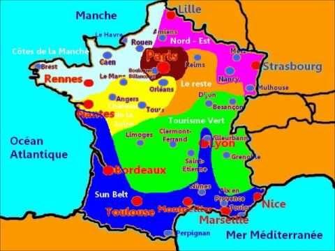 Leçon 1 : La géographie de la France