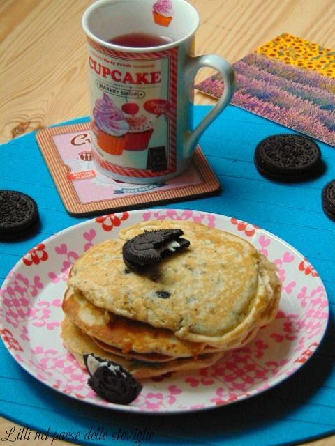 Oreo pancake