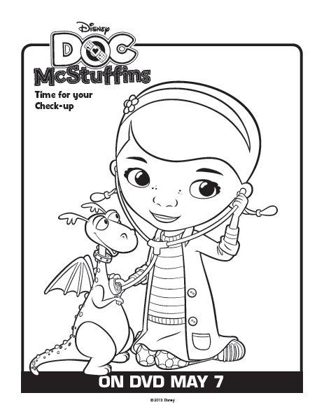 29 best Doc McStuffins Coloring Pages An Handy Mandy
