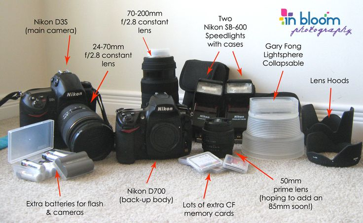 So You Want to be a Wedding Photographer?  Come check out this fantastic Beginners Shopping List of gear every aspiring wedding photographer should have to get started.