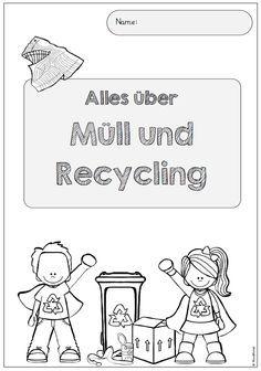 Für das demnächst anstehende Thema Müll und Recycling habe ich ein ganzes Weilchen suchen und überlegen müssen, wie ich das Thema mit den Ki...