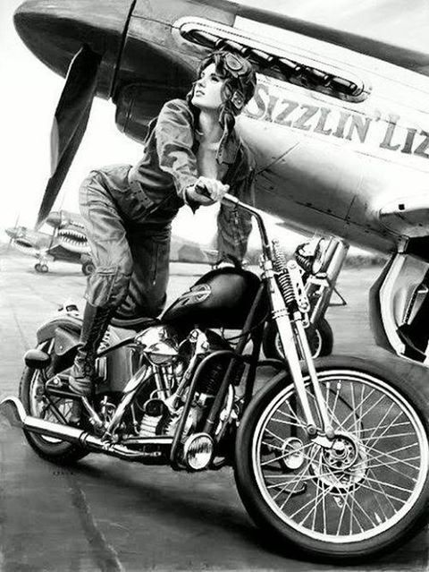 Classic picture. Completely love this. – www.youmotorcycle…