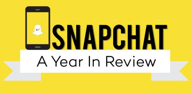 Snapchat: A Year in Review [Infographic]