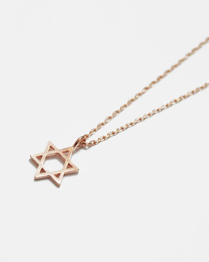 Simple Star of David Necklace - leahandkate