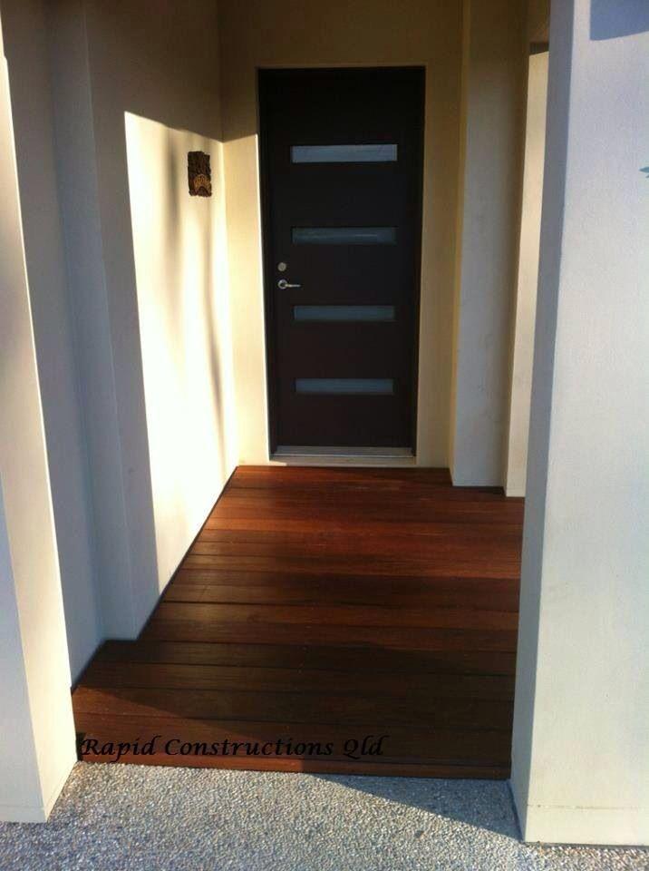 Timber decking - Merbau