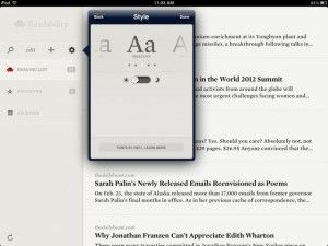 Readability Review » 148Apps » iPhone, iPad, and iPod touch App Reviews and News