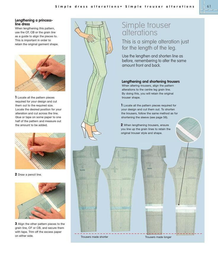 67 best HOW TO USE, ADAPT AND DESIGN sewing patterns images on ...