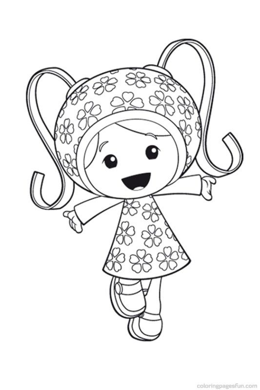 Team Umizoomi Girl Coloring Pages Located In TEAM UMIZOOMI Category Free Printable For Kids