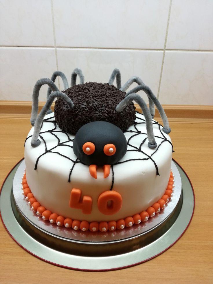 Spider cake ☺