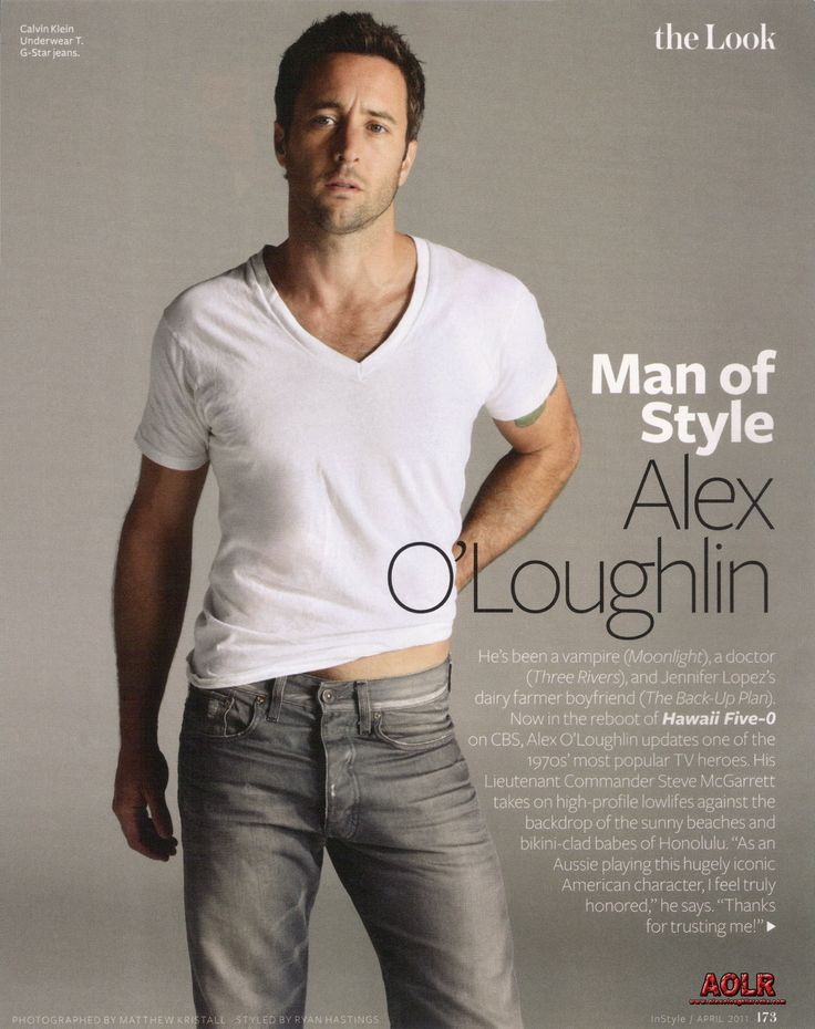 OMG . . . I'm in love with another Aussie! Alex O'Loughlin from Hawaii 5-0