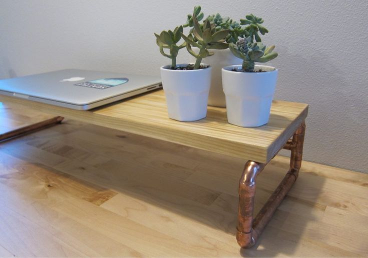 Best 25+ Monitor stand ideas on Pinterest  White desk organiser with drawers, White desks and