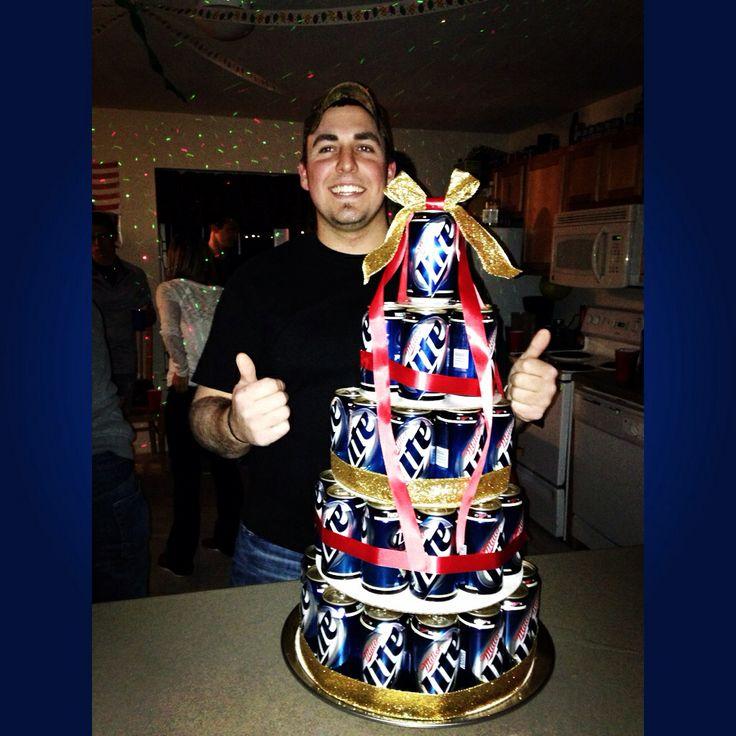 Miller lite cake!