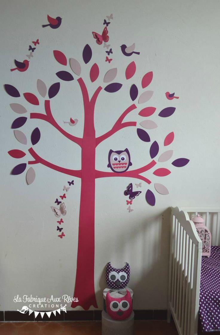 Les 25 meilleures id es de la cat gorie stickers arbre for Deco arbre chambre bebe