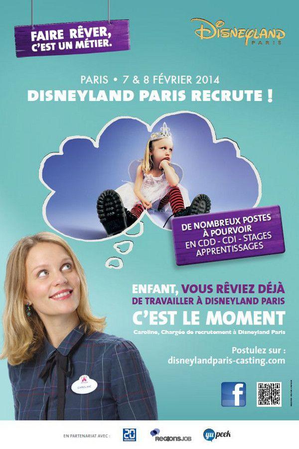 Disneyland réinvente sa marque employeur  #RH #marqueemployeur #disney #disneyland #recrutement