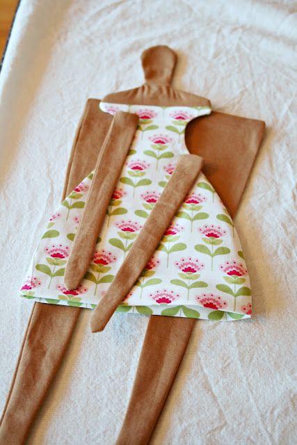 Tilda tutorial - máquina de costura, eu te amo!!kkkk