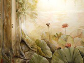 kisse decorazione murale