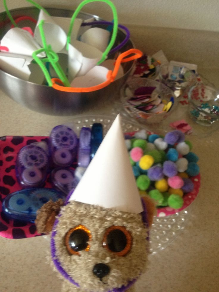 Ready To Decorate My Party Hat Beanie Boo Birthday