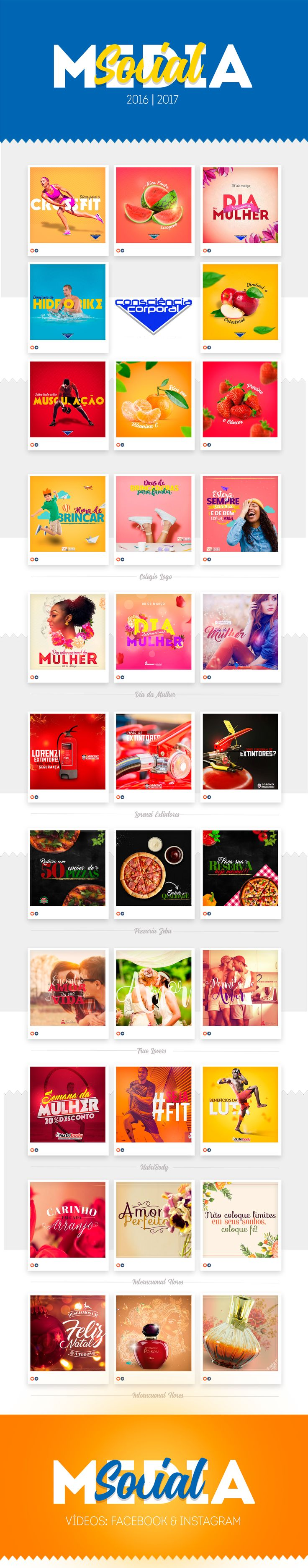 """Check out this @Behance project: """"Social Media - 2017"""" https://www.behance.net/gallery/36455573/Social-Media-2017"""