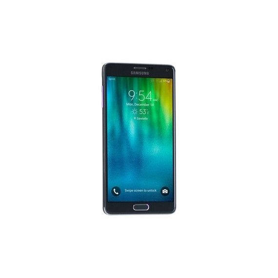 100% Free Mobile Phone Service w/ Samsung Galaxy Note 4 , Black - FreedomPop