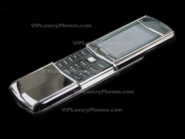 NOKIA 2014 Ceramic Slide GSM-Cell phone