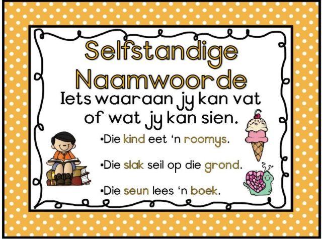 Selfstandige Naamwoorde