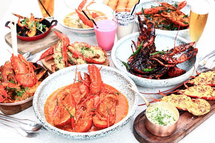 In celebration of Singapore's 50th birthday, PARKROYAL on Pickering is presenting Singapore's first-ever Lobsterfest Buffet at its star restaurant, Lime. Ye