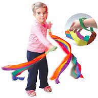 WRIST RIBBON - Encourage expression through movement with this colourful ribbon